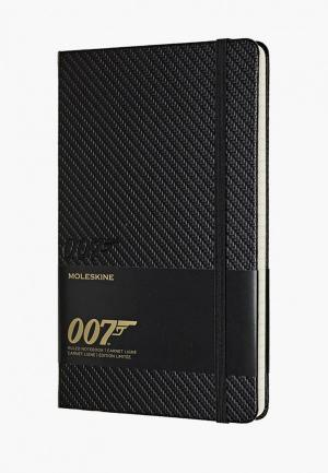 Блокнот Moleskine Limited Edition James Bond. Цвет: черный