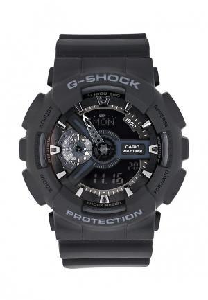 Часы Casio G-SHOCK GA-110-1B. Цвет: черный