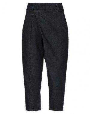 Джинсовые брюки-капри RUE•8ISQUIT. Цвет: синий