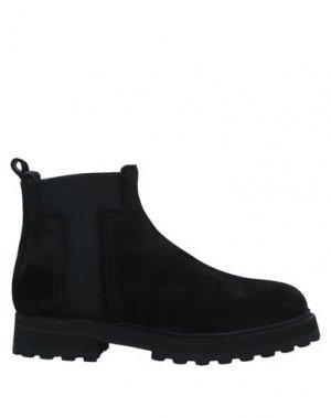 Полусапоги и высокие ботинки TOD'S. Цвет: черный