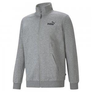 Олимпийка Essentials Mens Track Jacket PUMA. Цвет: серый