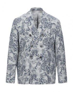 Пиджак 120%. Цвет: слоновая кость