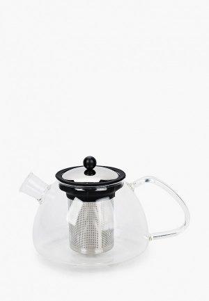 Чайник заварочный Walmer BOSS, 1.2л.. Цвет: прозрачный