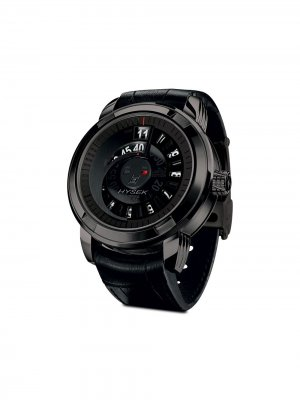 Наручные часы Jumping Hour 47 мм Jorg Hysek. Цвет: черный