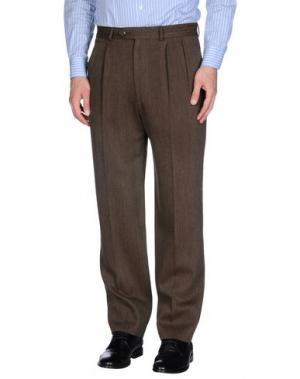 Повседневные брюки GERANI. Цвет: коричневый