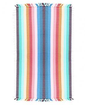 Пляжное полотенце SLOWTIDE. Цвет: лазурный