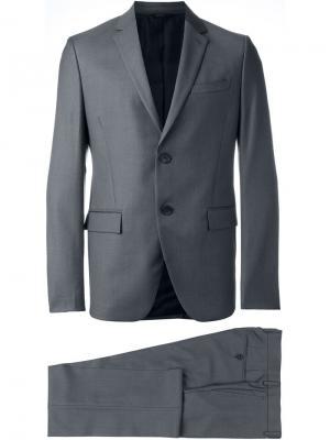 Вечерний костюм-двойка Fendi. Цвет: серый