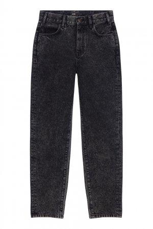 Укороченные джинсы черного цвета Maje. Цвет: черный