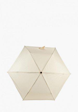 Зонт складной Mano. Цвет: бежевый