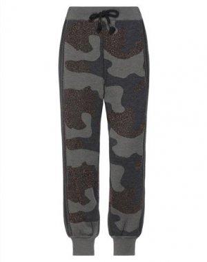 Повседневные брюки BRAND UNIQUE. Цвет: зеленый-милитари