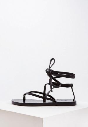 Сандалии Polo Ralph Lauren. Цвет: черный