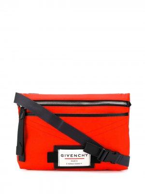 Сумка через плечо Downtown Givenchy. Цвет: красный