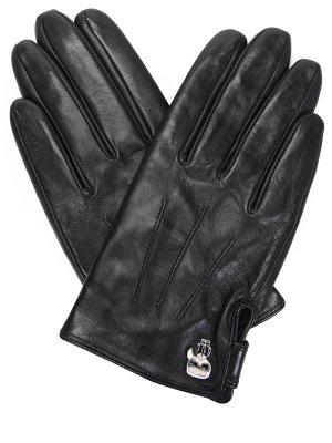 Перчатки кожаные KARL LAGERFELD