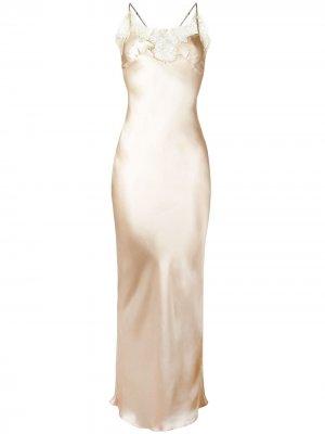 Удлиненная комбинация Gina Gilda & Pearl. Цвет: нейтральные цвета