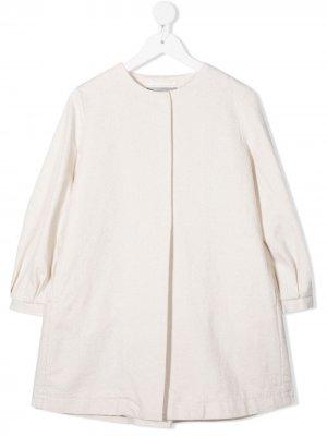 Пиджак без воротника Il Gufo. Цвет: нейтральные цвета