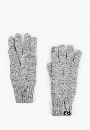 Перчатки Tom Tailor Denim. Цвет: серый