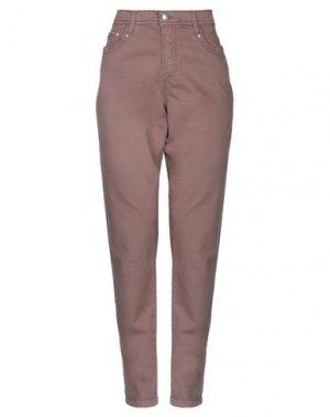 Повседневные брюки FUEGO WOMAN. Цвет: хаки