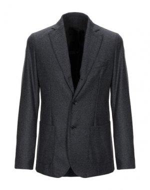 Пиджак CRUNA. Цвет: стальной серый