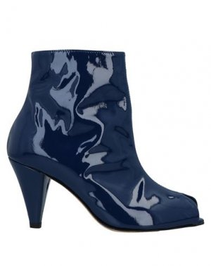 Полусапоги и высокие ботинки ÂME. Цвет: темно-синий