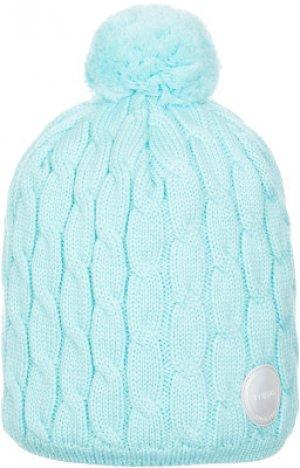 Шапка для девочек , размер 56 Reima. Цвет: голубой