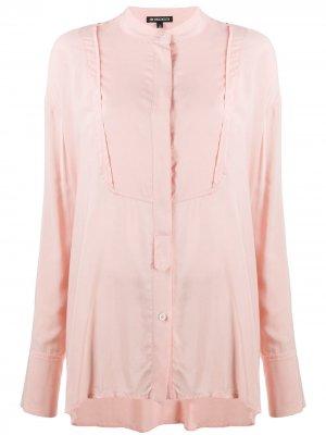 Блузка свободного кроя Ann Demeulemeester. Цвет: розовый