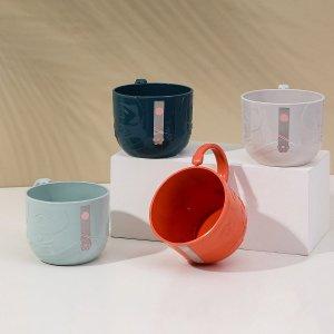 1шт Случайная чашка для полоскания SHEIN. Цвет: многоцветный