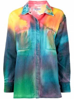 Джинсовая куртка Mila ICON DENIM. Цвет: синий