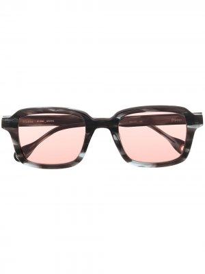 Солнцезащитные очки Studio Green Etudes. Цвет: синий