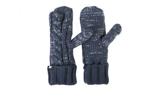 Перчатки, варежки, муфты Winter Mittens New Balance. Цвет: синий
