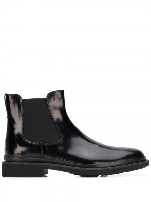 Tods лакированные ботинки челси Tod's. Цвет: черный