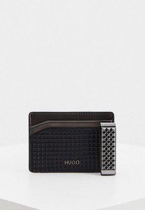 Зажим и кредитница Hugo GbH_S card m cl diam. Цвет: черный