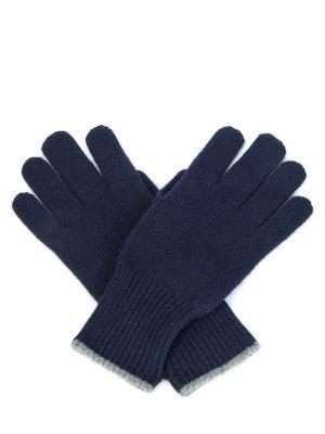 Вязаные перчатки из кашемира BRUNELLO CUCINELLI