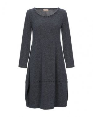 Короткое платье CLUB VOLTAIRE. Цвет: серый