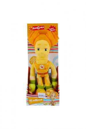 Игрушка мягкая Фиксики: Шпуля Мульти-пульти. Цвет: желтый
