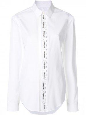 Классическая рубашка Chalayan. Цвет: белый
