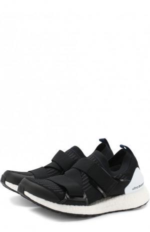 Текстильные кроссовки UltraBOOST X adidas by Stella McCartney. Цвет: черный
