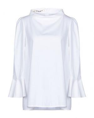 Блузка AQUILANO-RIMONDI. Цвет: белый