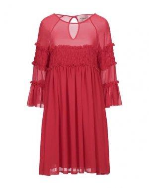 Короткое платье MARIUCCIA. Цвет: красный