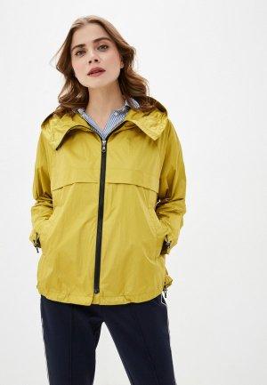 Ветровка Dixi-Coat. Цвет: желтый