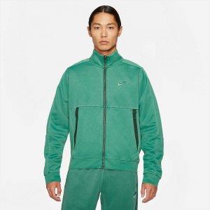 Sportswear Jersey Jacket Washed Revival Nike. Цвет: зеленый