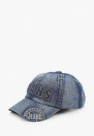Бейсболка Dairos DM/Jeans-3/-54-55. Цвет: синий