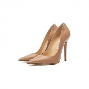 Кожаные туфли Anouk Jimmy Choo. Цвет: розовый