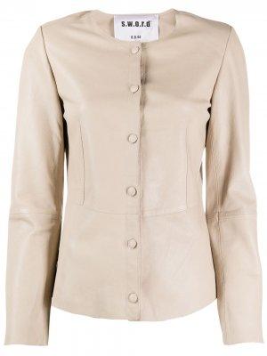 Куртка узкого кроя S.W.O.R.D 6.6.44. Цвет: нейтральные цвета