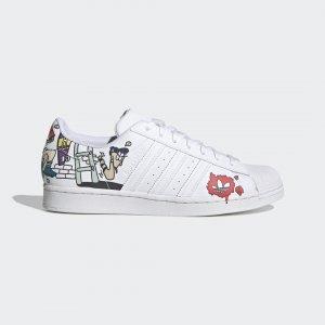 Кроссовки SUPERSTAR Originals adidas. Цвет: черный
