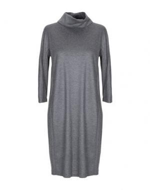 Короткое платье CAPPELLINI by PESERICO. Цвет: серый