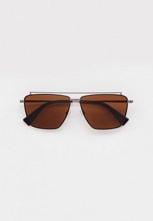 Очки солнцезащитные Baldinini BLD 2146 MM 403. Цвет: серебряный