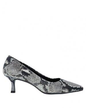 Туфли ALBANO. Цвет: серый