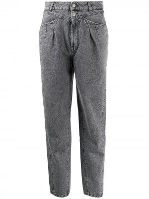 Tapered high-waist jeans IRO. Цвет: черный
