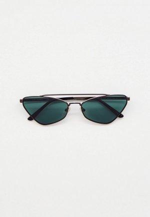 Очки солнцезащитные Karl Lagerfeld KL 313S 015. Цвет: серебряный