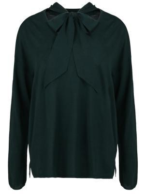 Шерстяной пуловер Gerard Darel. Цвет: зеленый